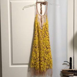 For love and Lemons Luau dress Yellow